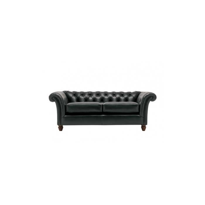 canap deux places en cuir cambridge cambridg achat vente canap sofa divan cuir. Black Bedroom Furniture Sets. Home Design Ideas