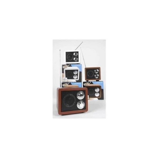 couleur blanche mini radio retro portative st radio cd cassette avis et prix pas cher. Black Bedroom Furniture Sets. Home Design Ideas
