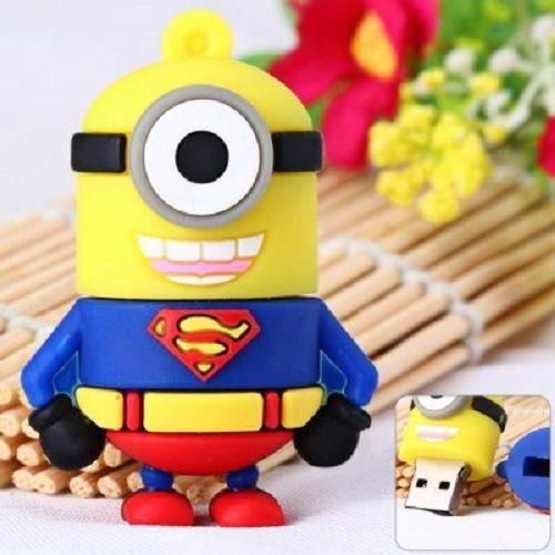 cle usb key 8 gb superman minion marvel prix pas cher. Black Bedroom Furniture Sets. Home Design Ideas