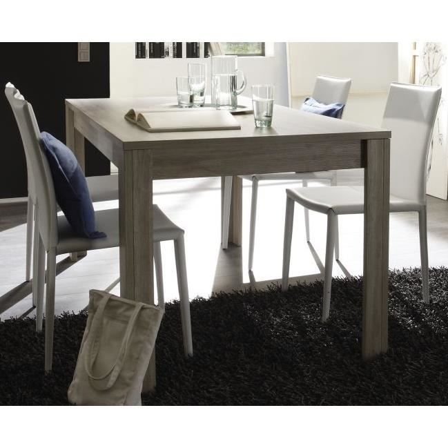 Table de salle manger contemporaine ch ne gris jessica for Table salle a manger 70 cm