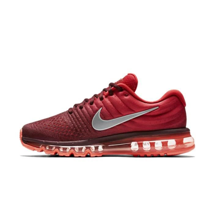 nike air max 2017 homme rouge