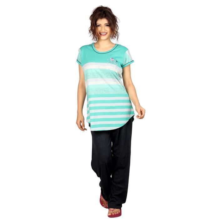 3453 Print agspl Fabric Top Set Pyjama Women's 40 Vjbyk amp; Carrel Cotton Hosiery Taille FAvxq