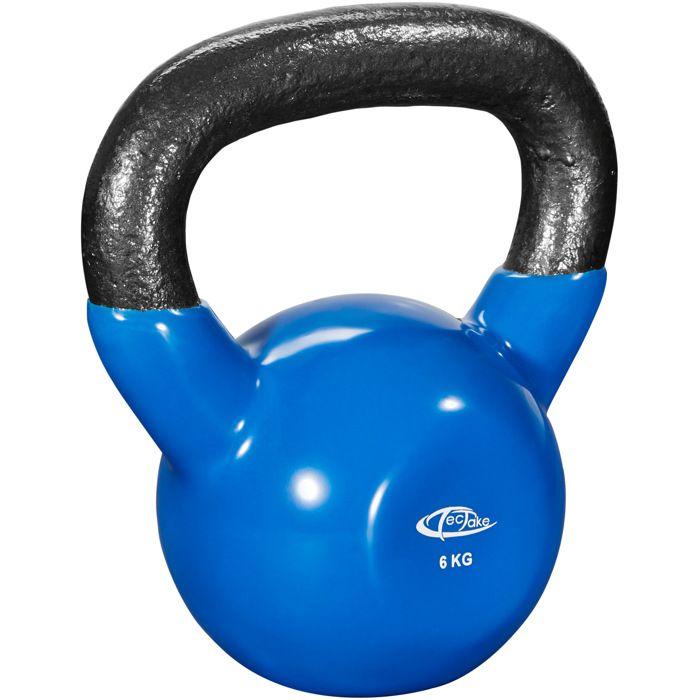 TECTAKE Kettlebell 6 kg pour Exercices de Musculation et..