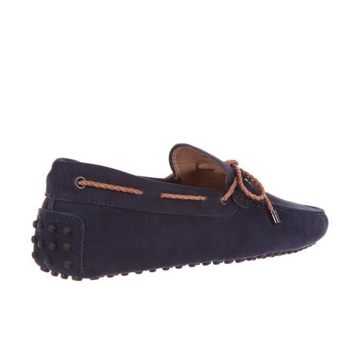 Mocassins homme en cuirlaccetto gommini 122 Tod's
