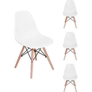 CHAISE JKK Lot de 4 Chaises Design scandinave Chaise de s