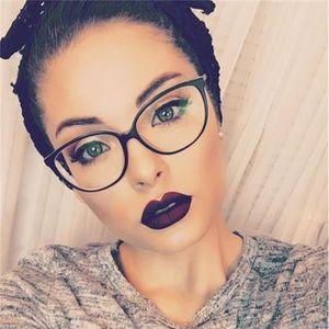 LUNETTES DE VUE Spectacle cadre oeil de chat lunettes cadre lentil