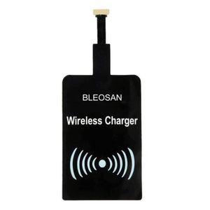 CHARGEUR TÉLÉPHONE BLEOSAN Chargeur Qi Sans Fil Micro USB Blanc, Char
