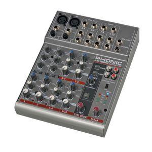 TABLE DE MIXAGE Phonic AM105FX Table de mixage 10 canaux effet