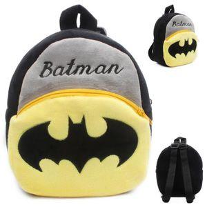 CARTABLE mignon Batman enfants jouets en peluche sac à dos