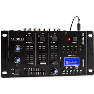 TABLE DE MIXAGE Vexus STM3030 Table de mixage 4 canaux Bluetooth U
