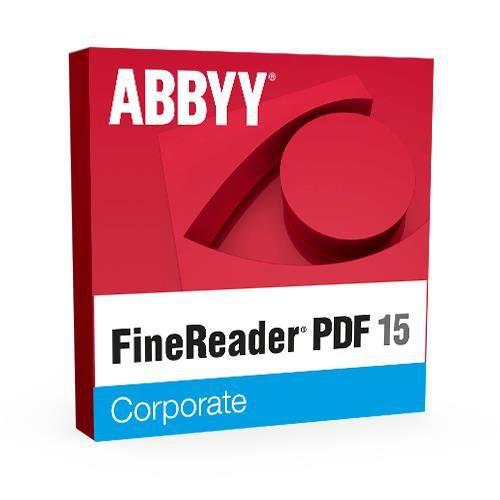 Abbyy FineReader PDF 15 Corporate - Licence perpétuelle - 1...