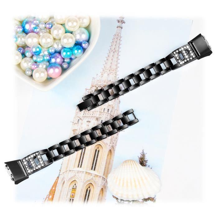 bracelet de montre vendu seul Remplacement du bracelet de bande de poignet en acier inoxydable pour Samsung Galaxy R370