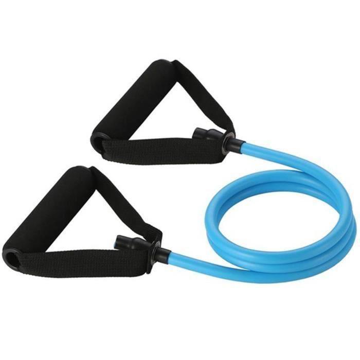 SURENHAP Élastique Bandes de résistance Sport Fitness Expander Pull Rope Tubes Équipement d'exercice physique -20-25LB