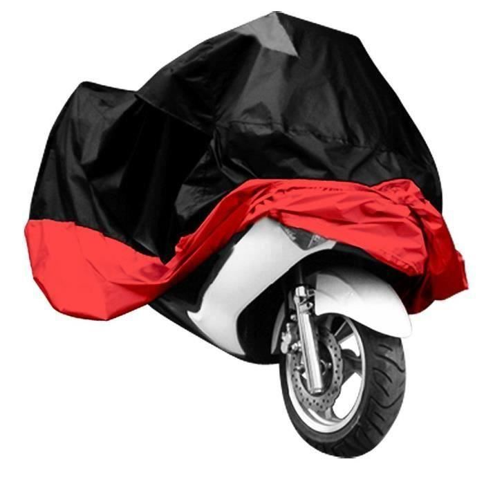 Hamimelon B/âche de Protection Housse Moto Couvre-Moto Couverture de V/élo VTT Scooter Impermeable Anti Pluie Anti Poussi/ère Nylon Vert