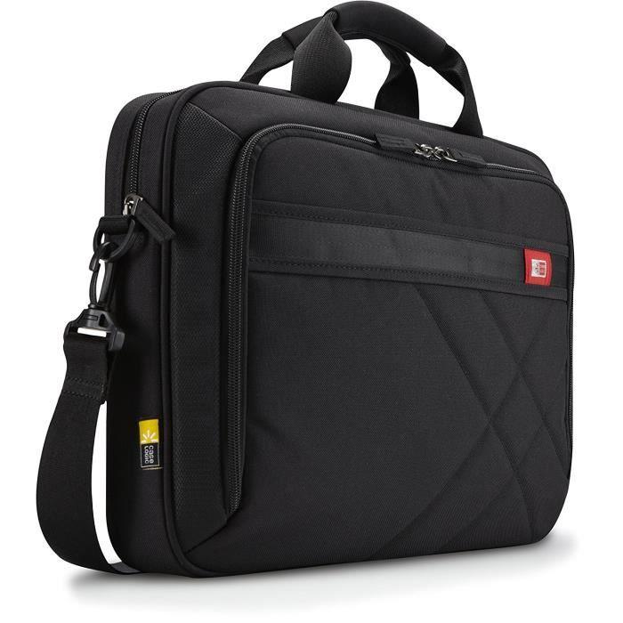 Case Logic DLC115 Sacoche en nylon pour Ordinateur portable 15,6- + Tablette pc 10,1- Noir