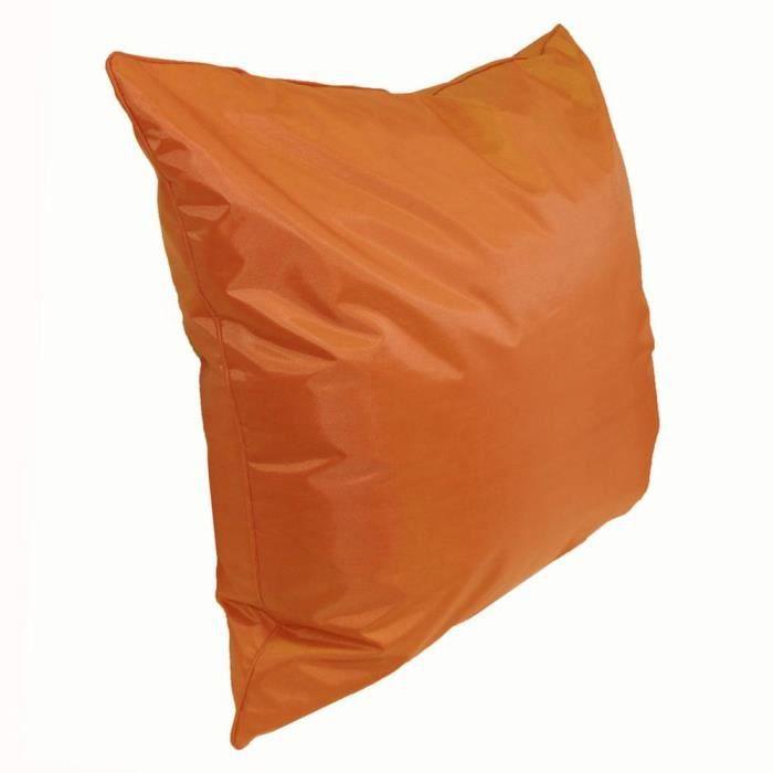 Coussin extérieur carré 45 cm Sun Orange