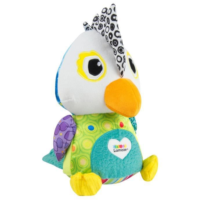 Lamaze - L27420 - Repetou Le Perroquet - Peluche Interactive Et Educative - Jouet Premier Age AT7MF