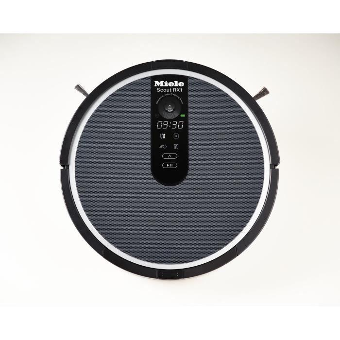 MIELE Aspirateur robot Scout RX1 - 22W - 60 dB - Noir obsidien