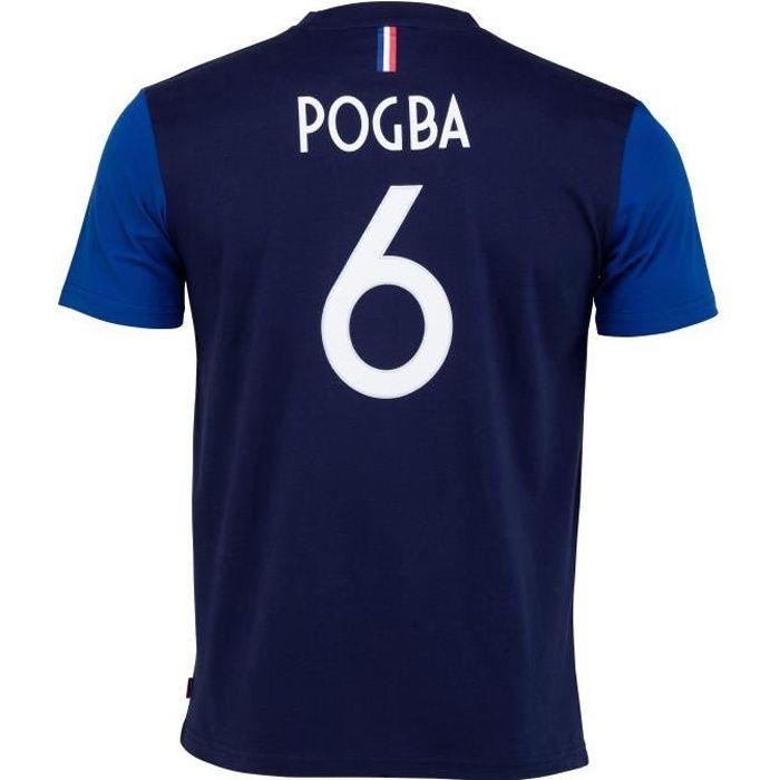 T-shirt FFF - Paul POGBA - Collection officielle Equipe de France de Football