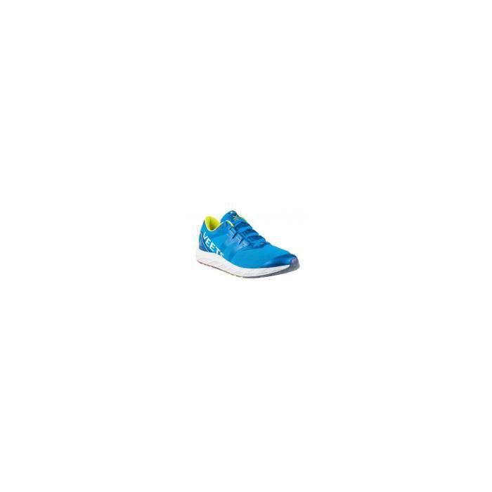 Chaussures Running VEETS Homme Véloce 1.0 Bleue / Jaune / Blanc PE 2019