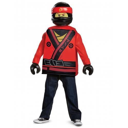 Déguisement Kai Ninjago LEGO® rouge enfant