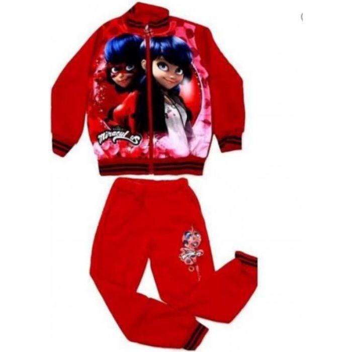 rouge Jogging enfant ladybug Mirac