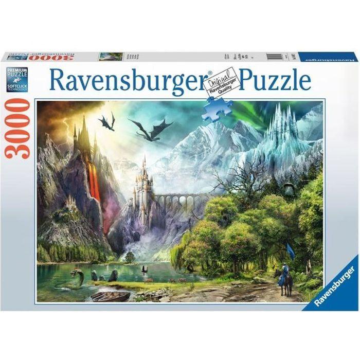 Puzzle 3000 p - Règne des dragons