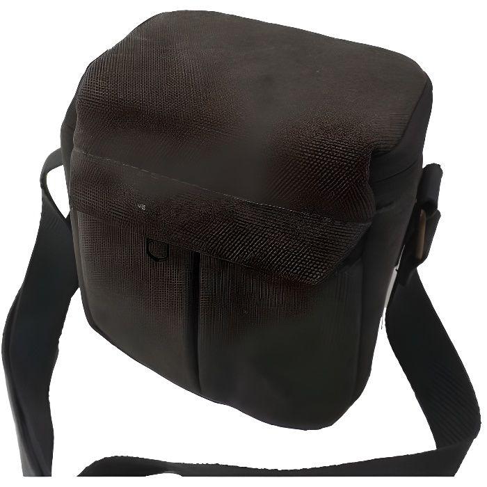 Sac de transport universel, saccoche ceinture pour appareil photo Panasonic Lumix DMC-GX7, DMC-GX8, DMC-GF6, DMC-GF7, DMC-GM1. - ...