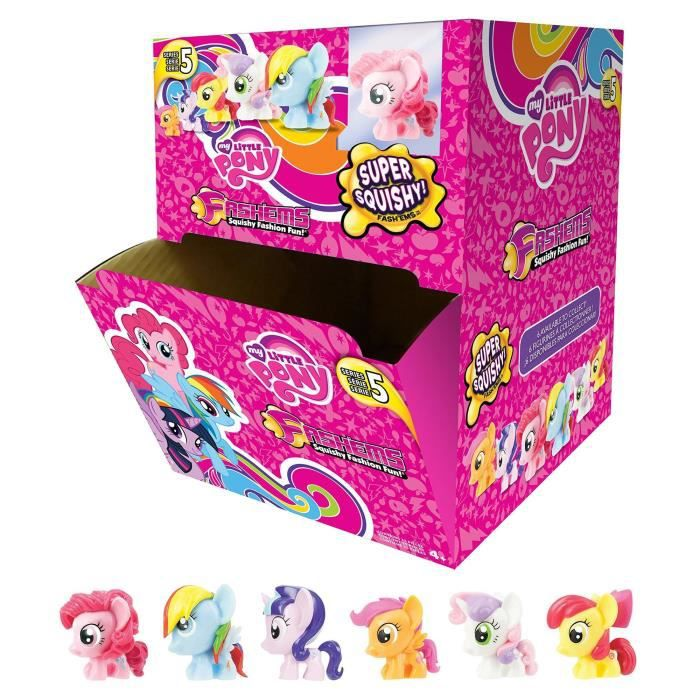 My Little Pony - Fash'ems - Gravity Display de 35 Capsules