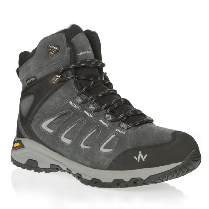 WANABEE Chaussures de randonnée Trek 400 2 High Wp M - Homme