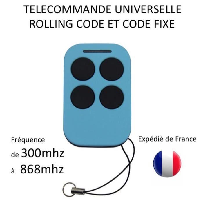 ECO VDS-R sol t/él/écommande T/él/écommande originale pour portail automatique 3 touches 433 Mhz