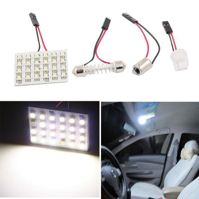 lampe blanc voiture led 1210 24smd int rieur festoon d me. Black Bedroom Furniture Sets. Home Design Ideas