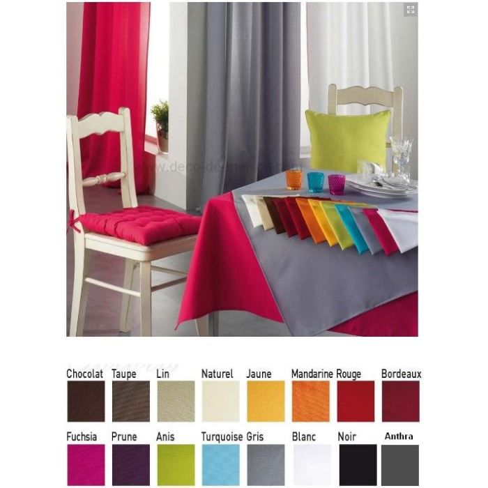6 serviettes de table 15 couleurs q 6 polyester achat vente serviette de table cdiscount. Black Bedroom Furniture Sets. Home Design Ideas
