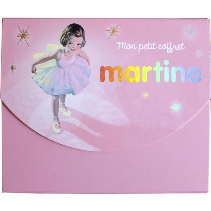 LIVRE 0-3 ANS ÉVEIL Livre - mes premiers Martine ; mon petit coffret