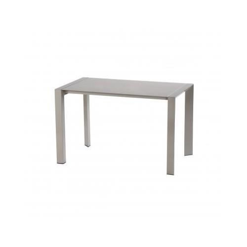 Table fixe noam taupe achat vente table manger table - Table a manger taupe ...