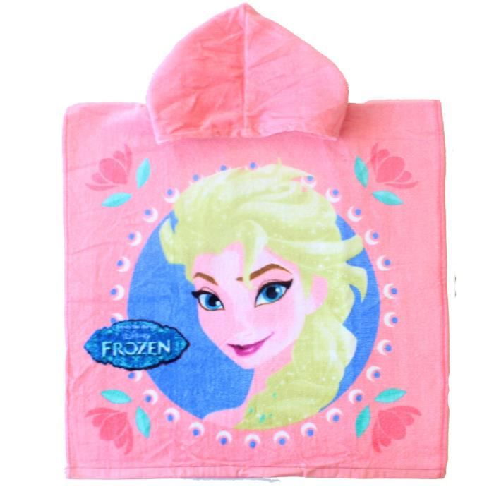 poncho de bain la reine des neiges fille achat vente serviettes de bain cdiscount. Black Bedroom Furniture Sets. Home Design Ideas