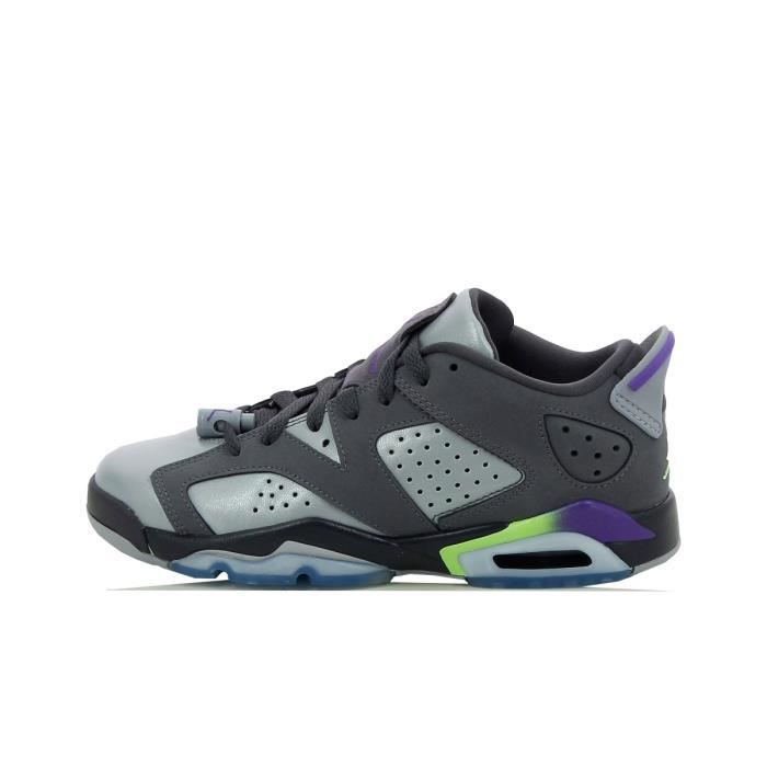 a7a9f218f5653 Basket Nike Air Jordan 6 Retro Low - 768878-008 Gris Gris - Achat ...