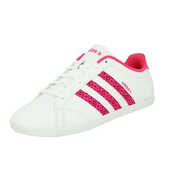 Adidas Neo CONEO QT VS Chaussures Mode Sneakers Femme Blanc