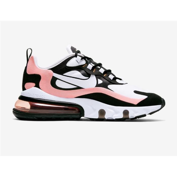 chaussure air max 270 rose et blanche