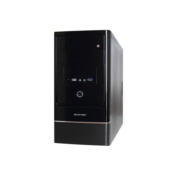 boitier pc micro atx smartteck mercury 420w st achat. Black Bedroom Furniture Sets. Home Design Ideas