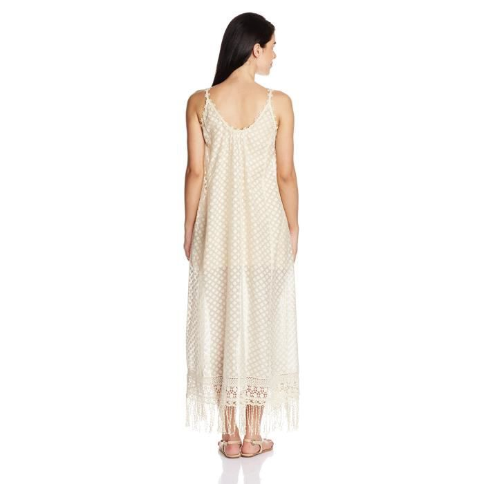 Womens Cotton A-line Dress LOPKH Taille-34