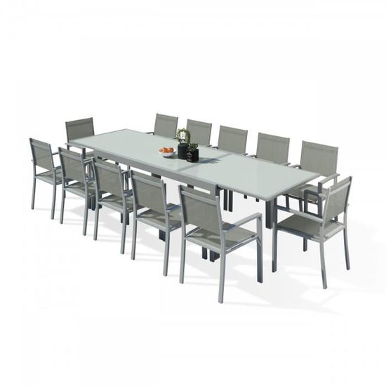 hara xxl table de jardin