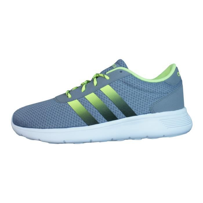 Neo Lite Chaussures Neo Courir Racer adidas adidas Lite Racer Baskets Gris Hommes C4EdqA7