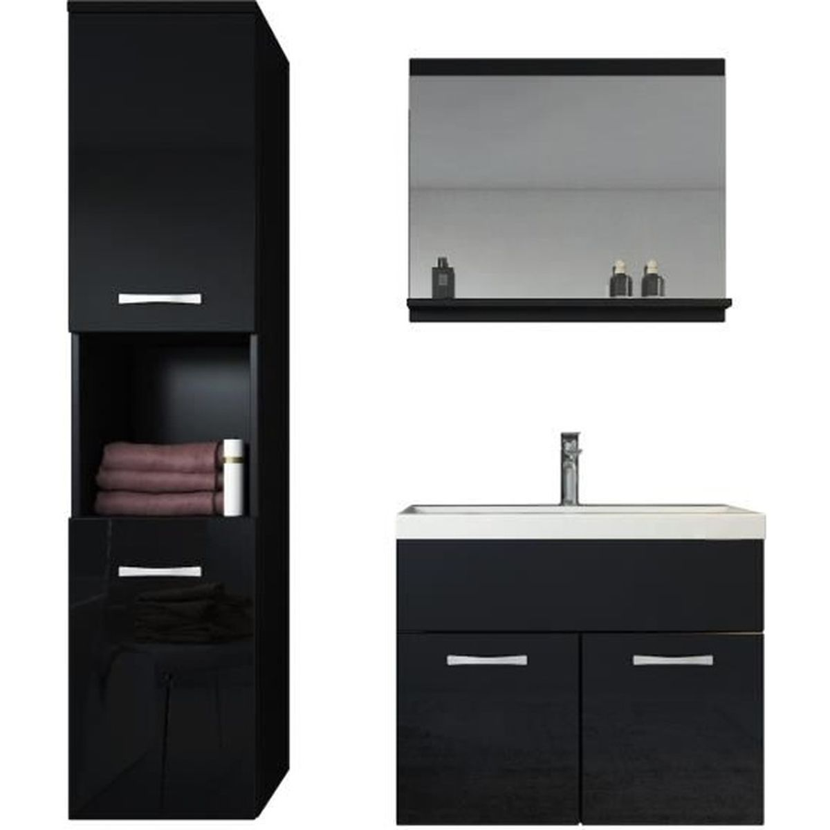 meuble de salle de bain armoire montr al armoire de. Black Bedroom Furniture Sets. Home Design Ideas