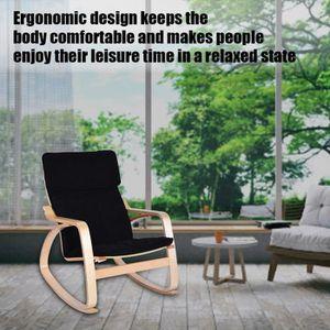 CHAISE DE BUREAU Chaise- fauteuil confortable relaxante bouleau boi