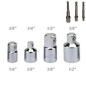 3//8 1//2 3//4 Clé Douille Réducteur Air Impact Résistant Cliquet Adaptateurs Neuf