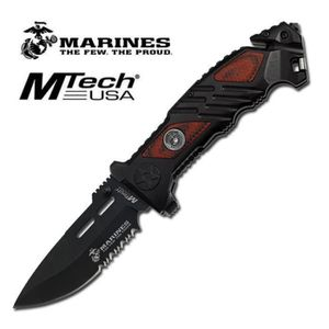 COUTEAU MULTIFONCTIONS couteau us marines usa us iron mike brise vitre co