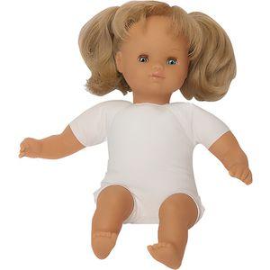 POUPON Poupon avec cheveux au corps souple, fille. type e