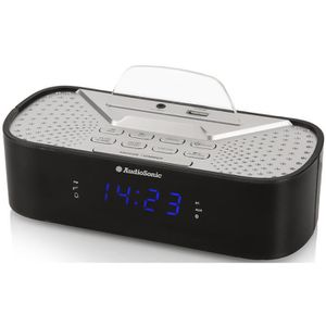 Radio réveil AUDIOSONIC CL-1463 Radio Réveil Bluetooth - Port d
