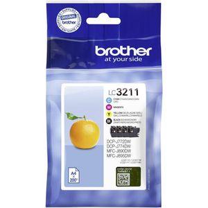 CARTOUCHE IMPRIMANTE Brother Cartouche LC-3211 Multipack (Je 1x BK/M/C/